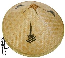 bamboo coolie rice picker straw hat abe39928be2